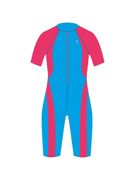 Tyr Kids In Aerofit Kneesuit Swim Costumes Girls Legsuit (colour May Vary)-24563