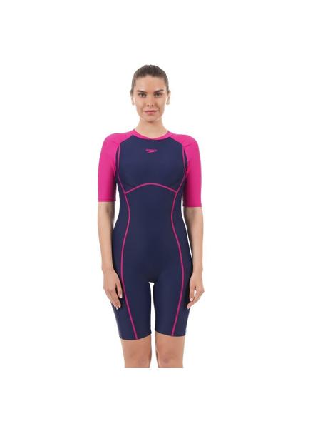 Speedo 810391p007 Swim Costumes Ladies Kneesuit-6857