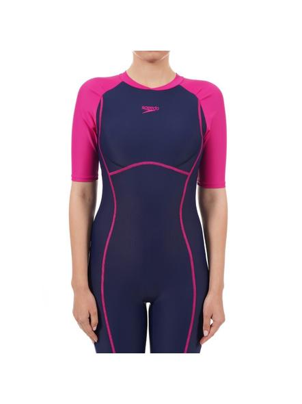 Speedo 810391p007 Swim Costumes Ladies Kneesuit-42-2