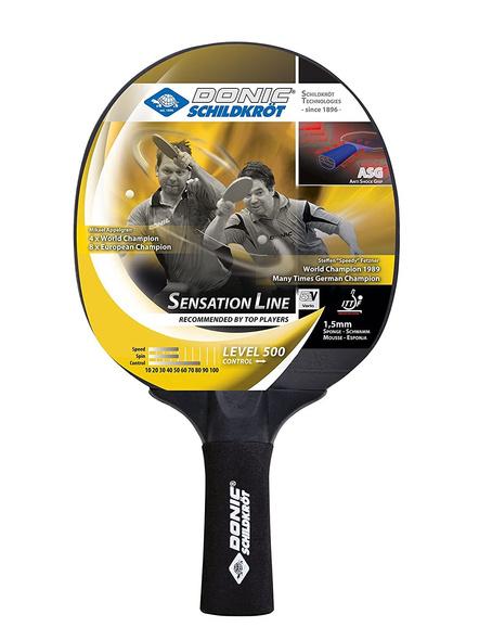 Donic Sensation Line 500 Table Tennis Bat ( Black, 86 Grams, All-rounder )-2064