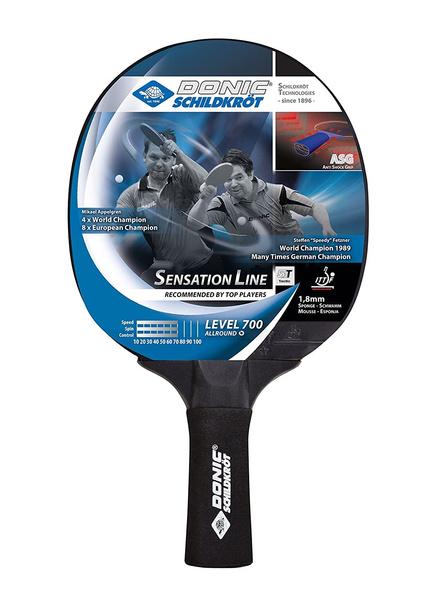 Donic Sensation Line 700 Table Tennis Bat ( Black, 86 Grams, All-rounder )-1757