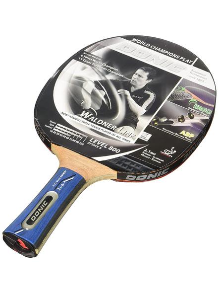 Donic Waldner 800 Table Tennis Bat ( Black-brown, 87 Grams, All-rounder )-2065