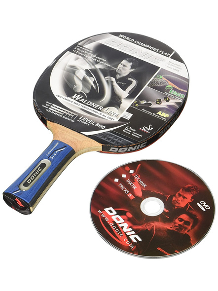 Donic Waldner 800 Table Tennis Bat ( Black-brown, 87 Grams, All-rounder )-1 Unit-1