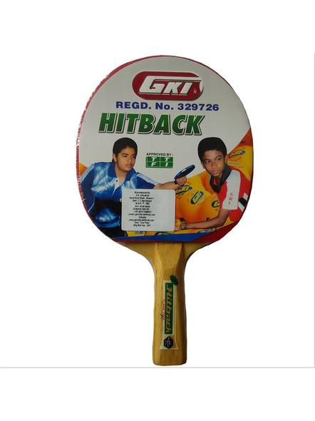 Gki Hitback Table Tennis Racquet-1 Unit-1