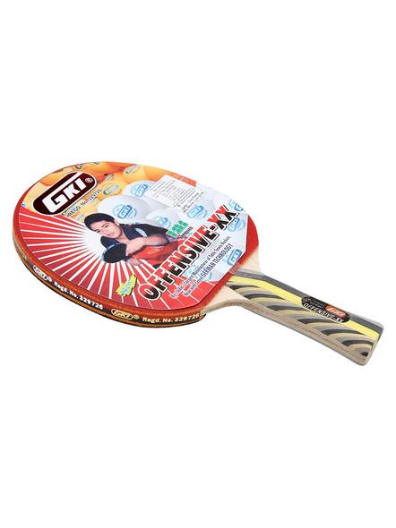 Gki Offensive Xx Table Tennis Racquet-1 Unit-1
