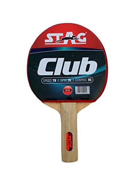 Stag Club Table Tennis Racquet( Multi- Color, 166 Grams, Beginner )-446