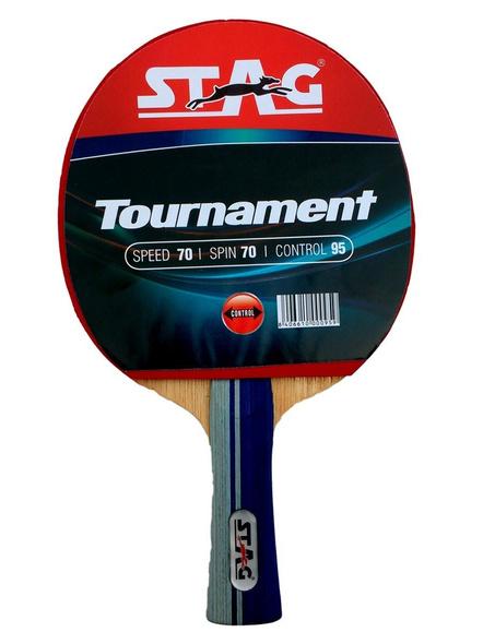 Stag Tournament Table Tennis Racquet( Multi- Color, 156 Grams, Beginner )-1 Unit-1