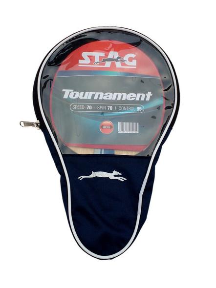 Stag Tournament Table Tennis Racquet( Multi- Color, 156 Grams, Beginner )-1 Unit-2