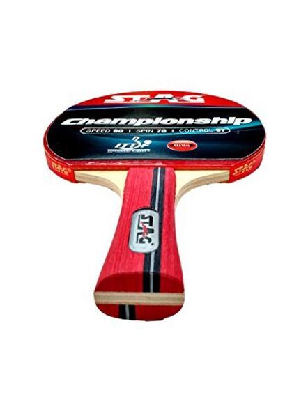 Stag Championship Table Tennis Racquet( Multi- Color, 172 Grams, Intermediate )-1 Unit-2