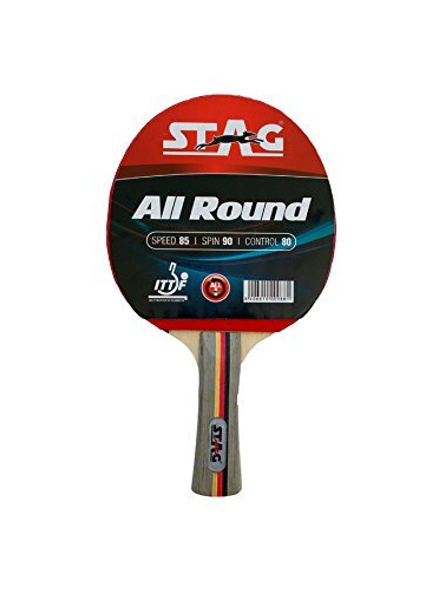 Stag All Round Table Tennis Racquet( Multi- Color, 180 Grams, Advanced )-4596