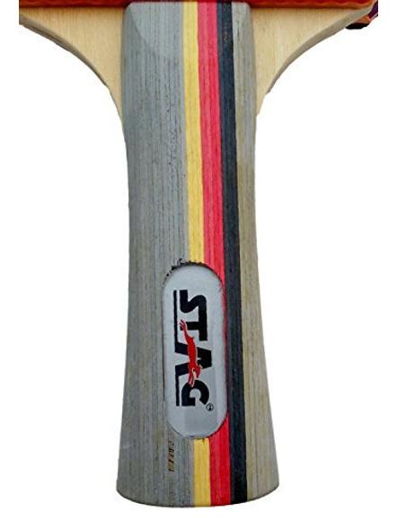 Stag Ninja Fire Table Tennis Racquet( Multi- Colour, 180 Grams, Advanced )-1 Unit-1
