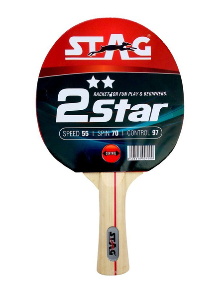 Stag 2 Star Table Tennis Racquet-910