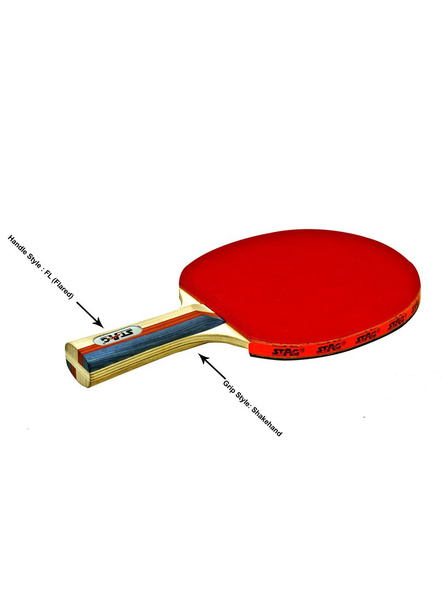 Stag 2 Star Table Tennis Racquet-NA-.-2