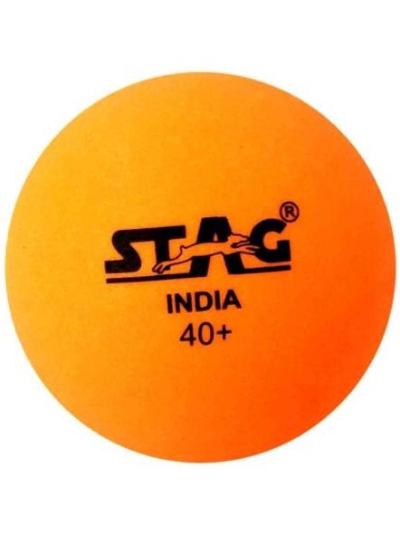Stag Seam Ball Table Tennis Ball-5 Units-ORANGE-1