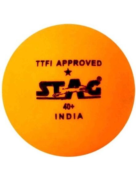 Stag 1 Star Table Tennis Ball-3 Units-754
