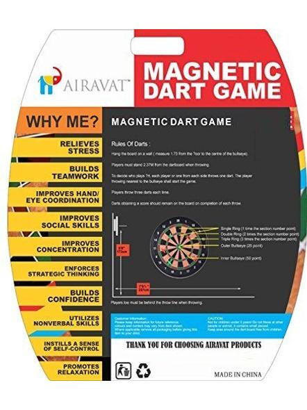 Airavat Magnetic Dart Board Game-1 Unit-S-1
