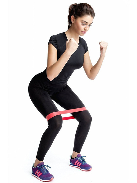Konex Resistance Loop Latex Band Set For 5. Exercise, Legs, Gym, Workout-LEVEL 1-1