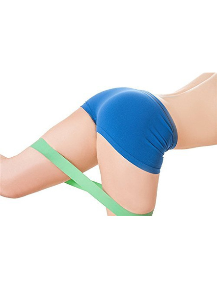 Konex Resistance Loop Latex Band Set For 5. Exercise, Legs, Gym, Workout-LEVEL 1-2