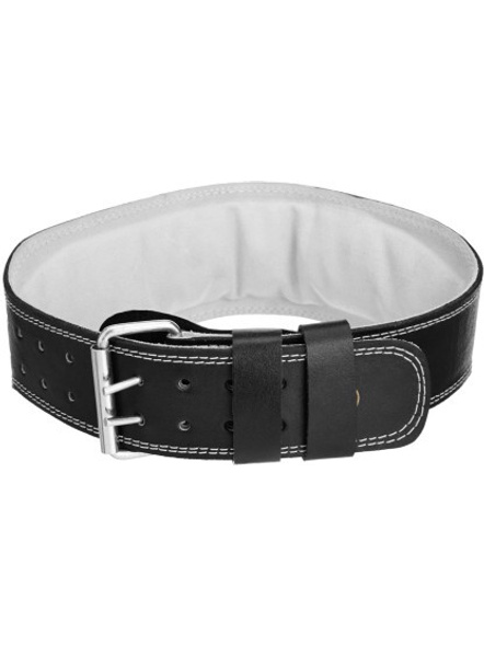 """Usi Weight Lifting 4"""" Belt Padded Leather Back & Abdomen Support-1 Unit-L-1"""