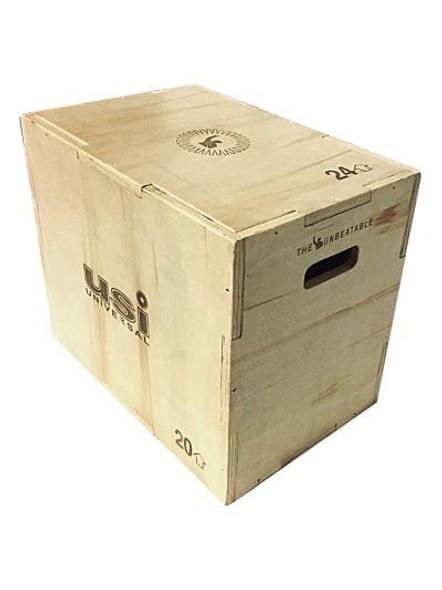 Usi Wooden Plyo Box (wpb)-12786