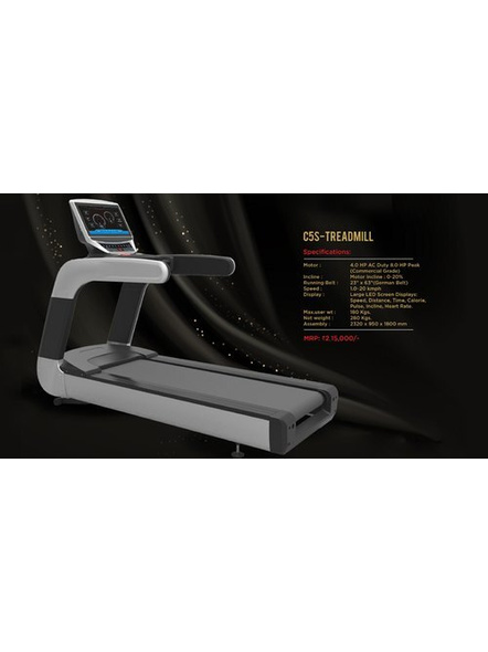 Cosco C-5s Motorised Treadmill-4.0 HP-Yes-180 Kg-1