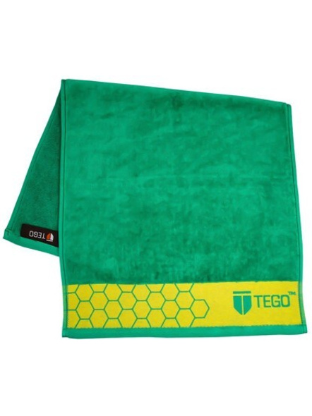 Tego Cotton 2400 Gsm Sport Towel (colour May Vary)-Blue Orange-1