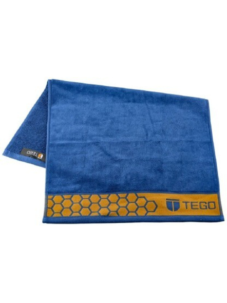 Tego Polyester 600 Gsm Sport Towel (colour May Vary)-Blue/green-2
