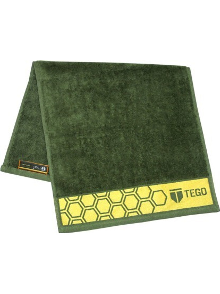 Tego Cotton 600 Gsm Sport Towel-Green Yellow-1