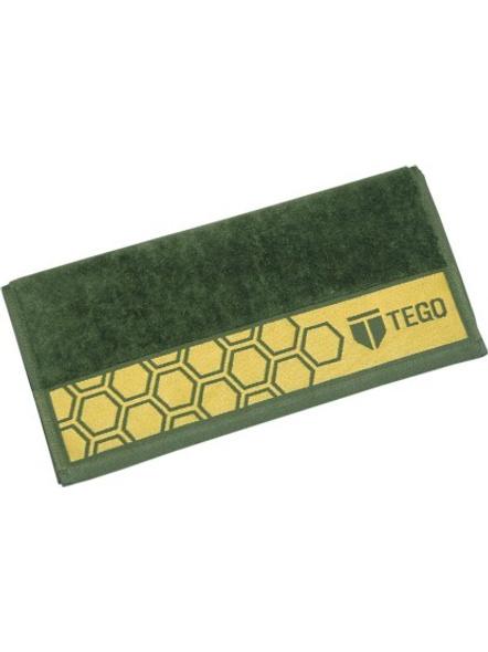 Tego Cotton 600 Gsm Sport Towel-Green Yellow-2
