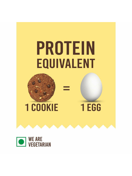 Eat Anytime Mindful Protein Cookies (80 G) Pack Of 4 Protein Bars-CHOCOLATE-80 g-2