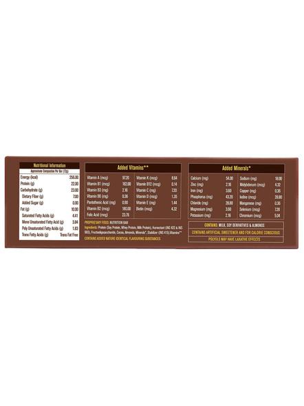 Muscleblaze Protein Bar 22 G Protein Bars-ALMOND FUDGE-22 g-2