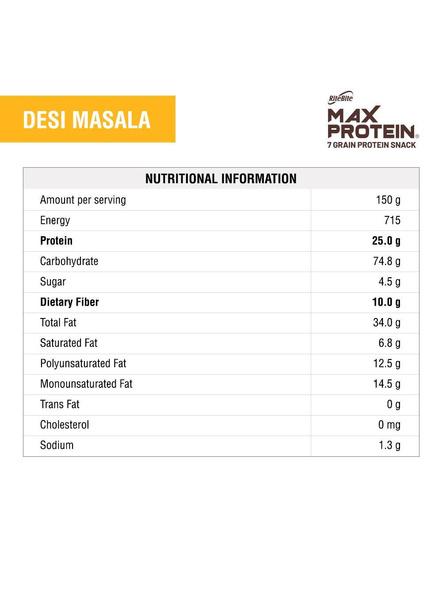 Ritebite Max Protein Chips 150g-DESI MASALA-150 g-2