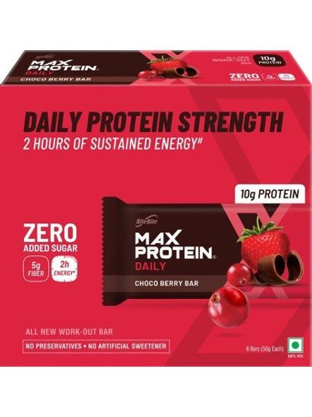Ritebite Max Protein Daily Bars 300g - Pack Of 6 (50g X 6)-26