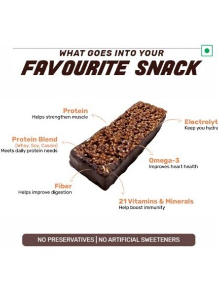Ritebite Max Protein Daily Bars 300g - Pack Of 6 (50g X 6)-CHOCO BERRY-50 g-2