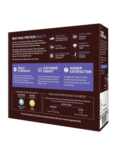 Ritebite Max Protein Daily Bars 300g - Pack Of 6 (50g X 6)-CHOCO ALMOND-1