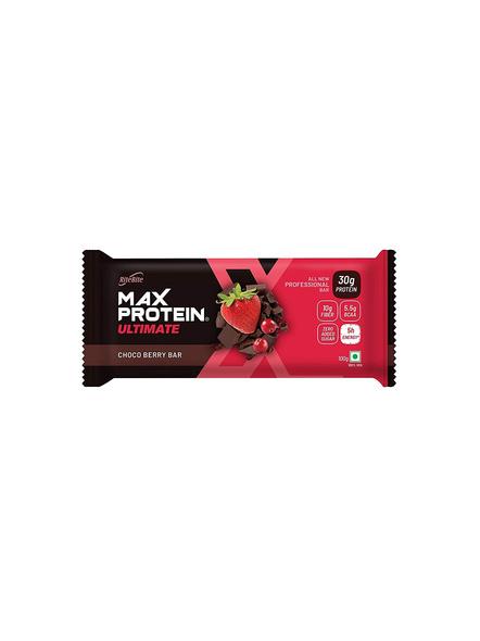 Ritebite Max Protein Ultimate Bars 1200g - Pack Of 12 (100g X 12)-CHOCO BERRY-100 g-1