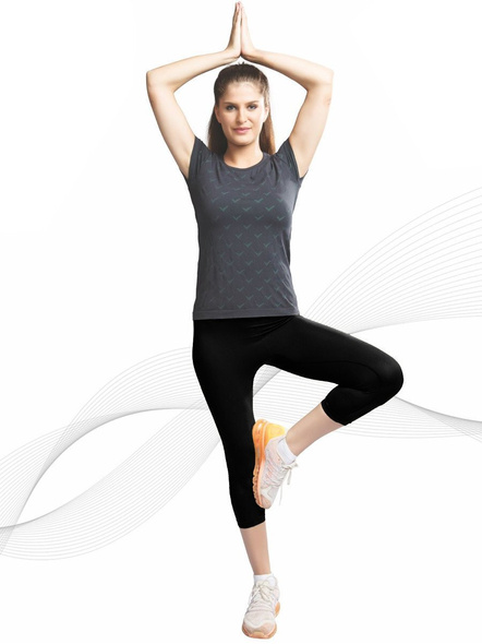 C9 Airwear Active Capri (colour May Vary)-Olive-L-1