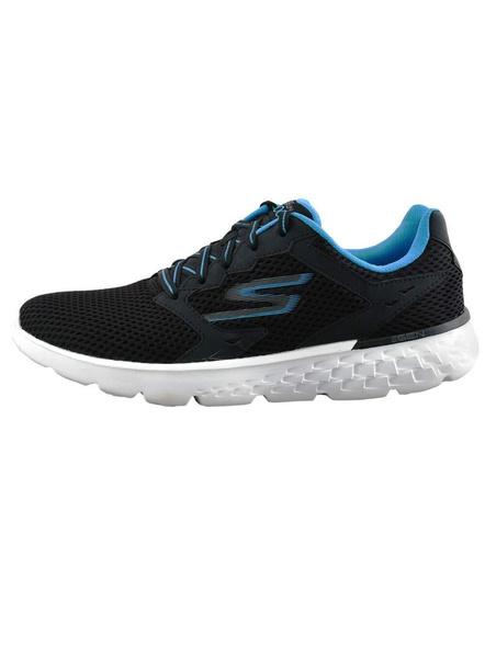 Skechers Men's Go Run 400 Running Shoes (Colour May Vary)-BLACK/BLUE-9-1