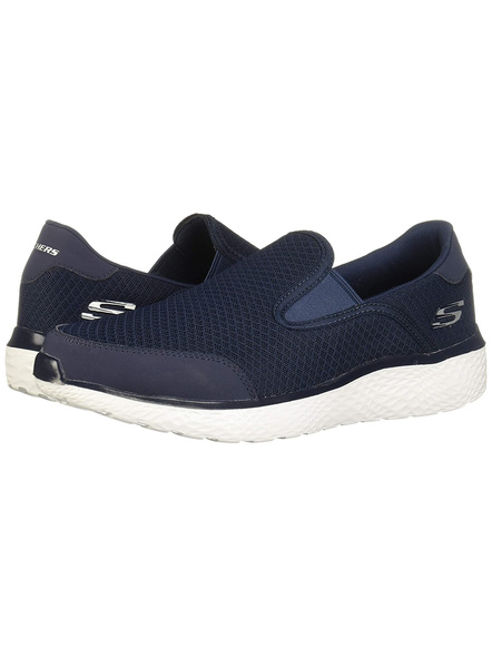 SKECHERS 59401 SPORTS SHOES-NAVY-11-1