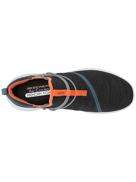 Skechers Men's Matera-Holtcrest Sneakers (Colour May Vary)-NAVY-ORANGE-9-1