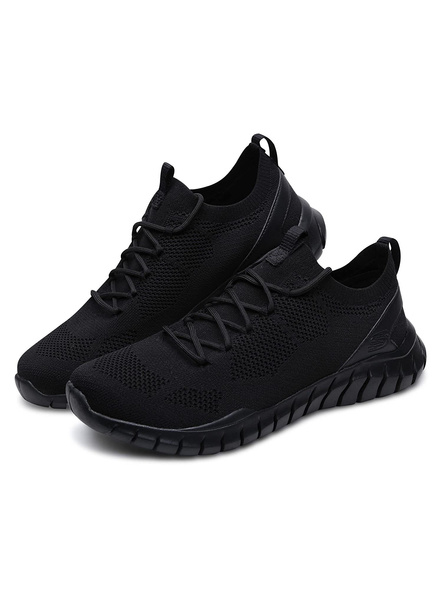 Skechers Men's Overhaul Sneakers (Colour May Vary)-11-BLACK-1