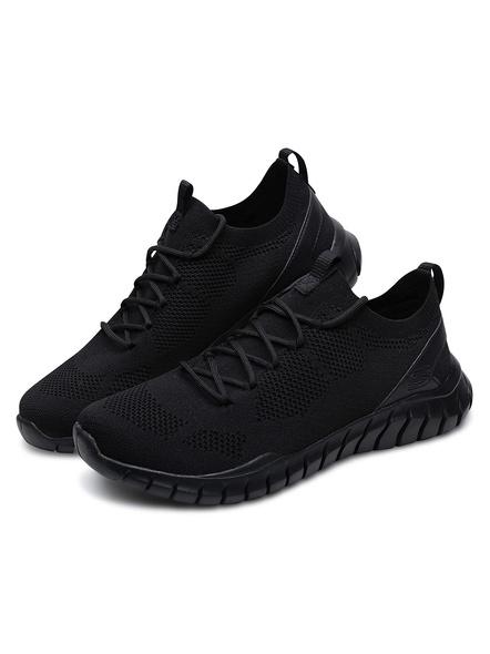 Skechers Men's Overhaul Sneakers (Colour May Vary)-6-BLACK-1