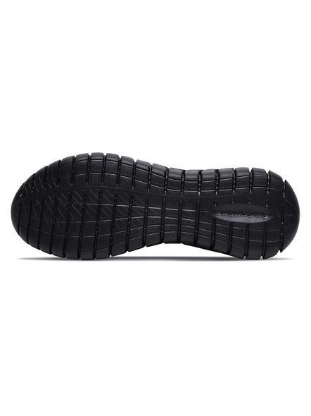 Skechers Men's Overhaul Sneakers (Colour May Vary)-6-BLACK-2