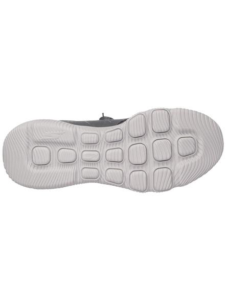 Skechers Men's Go Run Focus-Athos Shoes(Colour May Vary)-CHARCOAL/ORANGE-10-2