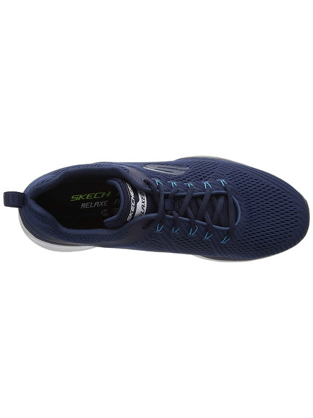 Skechers Men's Equalizer 3.0 Sneakers (Colour May Vary)-NAVY/ORANGE-9-1