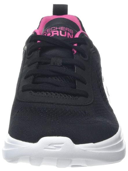 Skechers Women's Go Run Fast-15107 Sneaker (Colour May Vary)-BLACK PINK-6-1
