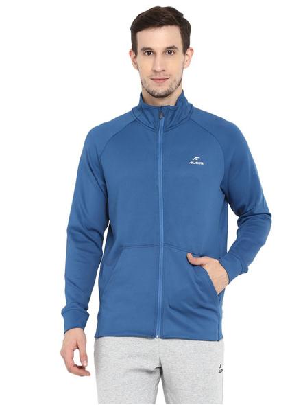 Alcis Men Solid Blue Jacket Mjkaw282-22282