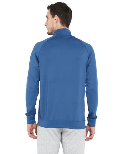 Alcis Men Solid Blue Jacket Mjkaw282-Deep Blue-Xxl-2