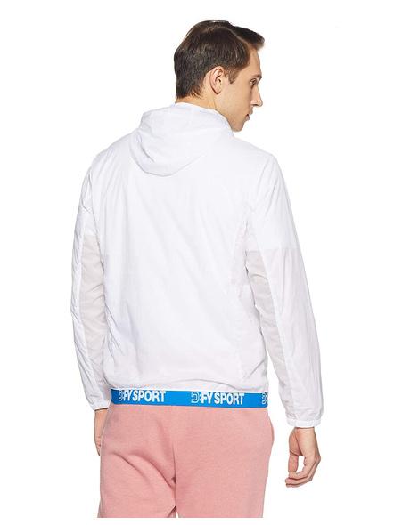 Dfy Men's Track Jacket-White-S-1