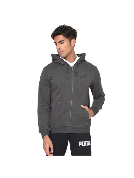 Essentials Fleece Hooded Men's Jacket(colour May Vary)-06-Xl-1